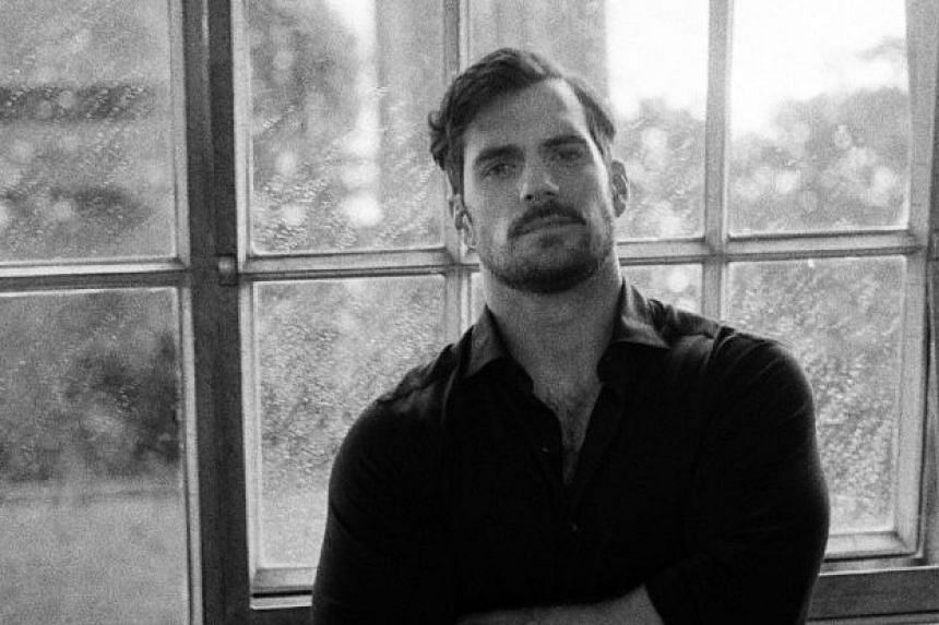 In person, actor Henry Cavill is more English gentleman than Hollywood action hero.