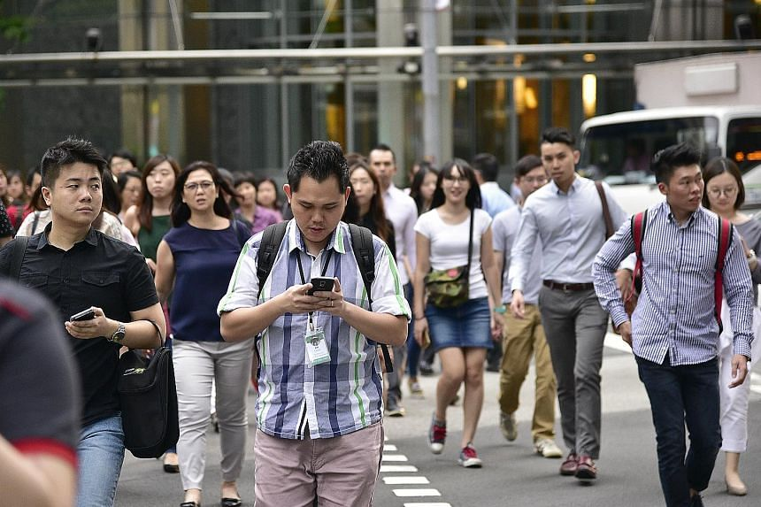 The survey by ECA International ranks Singapore's projected wage growth at No. 9 out of the 20 countries surveyed in the Asia-Pacific region and at No. 14 on the global list.