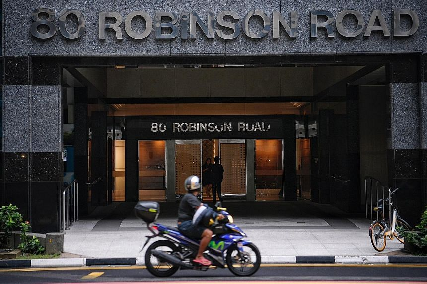 The new fintech innovation hub, 80RR Fintech Hub SG, is being set up in an office building owned by Hong Leong Group in the heart of the central business district.