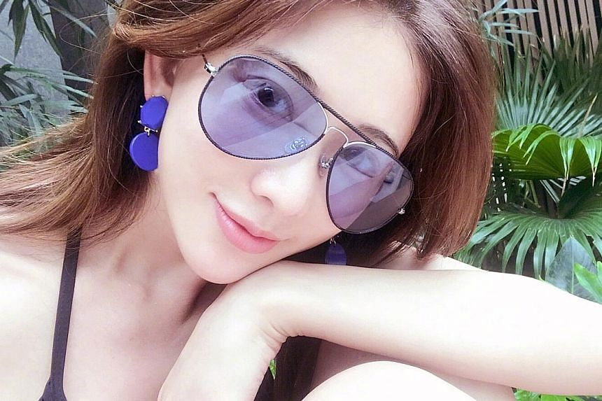 Supermodel Chiling Lin in Malaysia, in a picture posted on Nov 9.