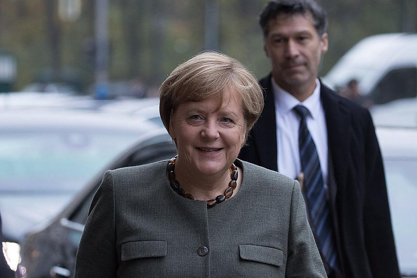 The Christian Democratic Union of Dr Angela Merkel, the Free Democratic Party and the small Greens party are holding talks to form Germany's next Government after the general elections in September.