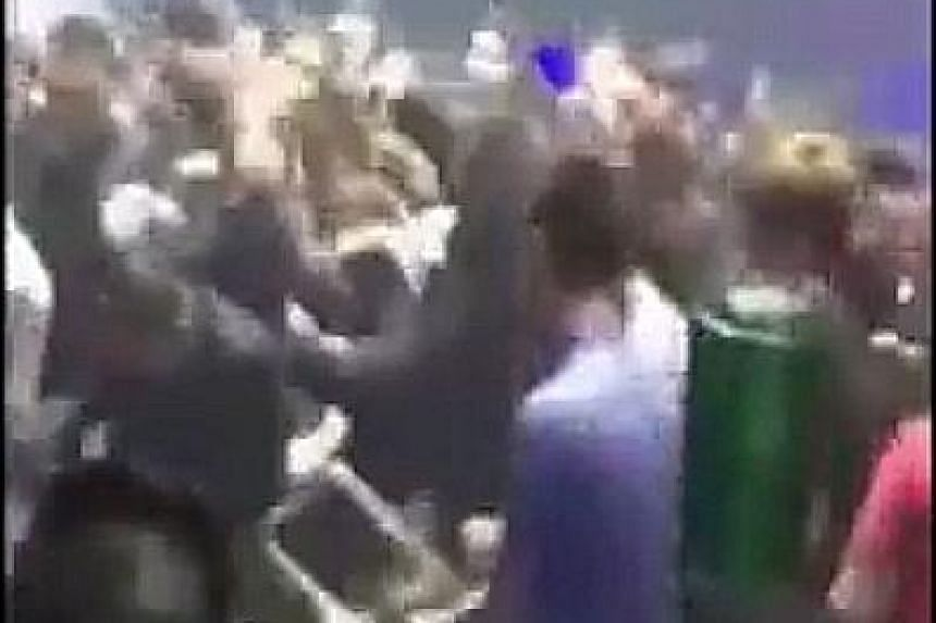 Footage of the fight at Envy Dance Club - showing people punching and kicking one another - went viral yesterday.