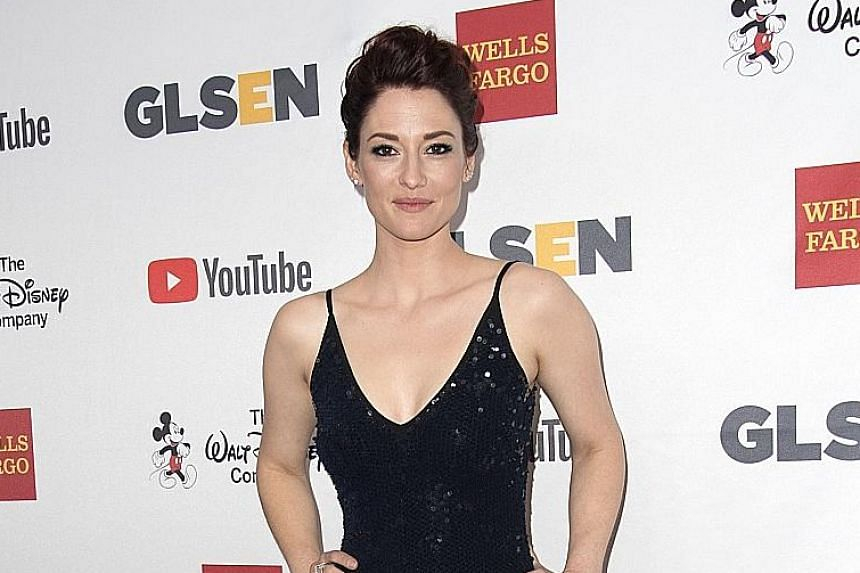Melissa Benoist (left) and Chyler Leigh are among the actresses whose posts on social media supported the alleged victims of abuse.