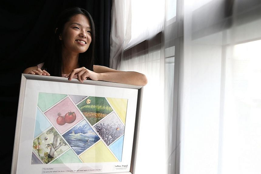 Miss June Bai had an abortion when she was in her early 20s, and suffered from the guilt and shame of it. In June, she started a project to offer support to women in similar situations.