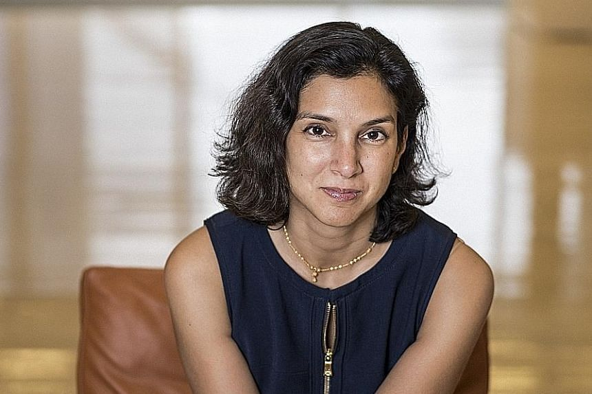 Besides having a doctoral degree in English and comparative literature from Columbia University, Ms Radhika Jones had lived in Taipei and Moscow, where she got her start in journalism as arts editor at Moscow Times, an English-language newspaper.