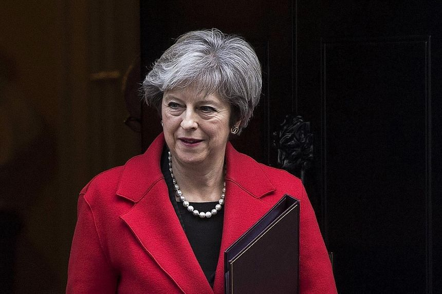 Reports that dozens of Conservative MPs were backing a move to oust British Prime Minister Theresa May caused the pound to drop on Monday.