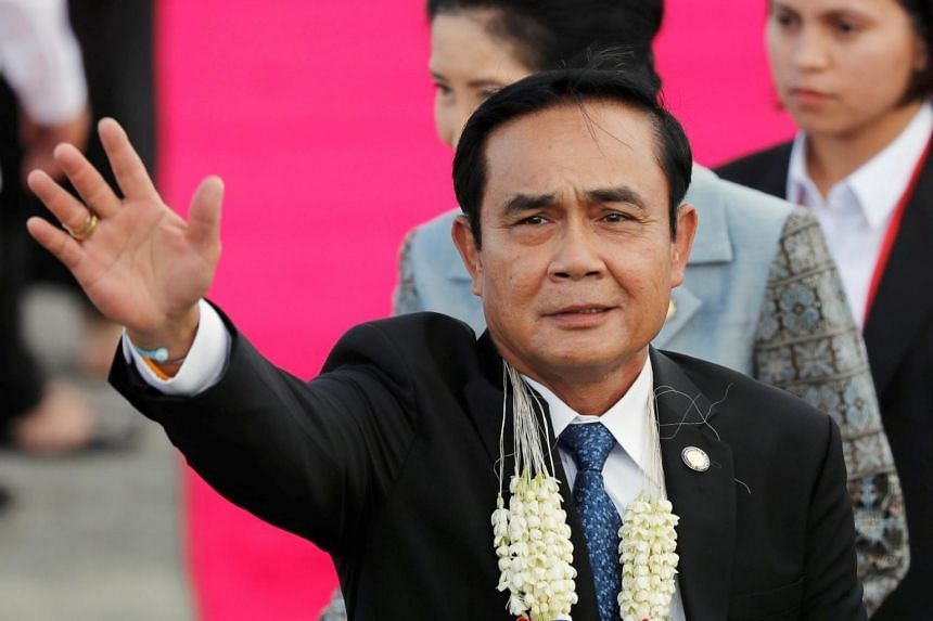 Prime Minister Prayuth Chan-Ocha said a vote will be held in November 2018.