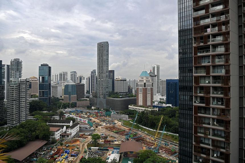 The Core Central Region saw rents drop by 1.4 per cent in October, followed by a respective 0.3 per cent fall in both the city-fringe region and Outside Central Region.