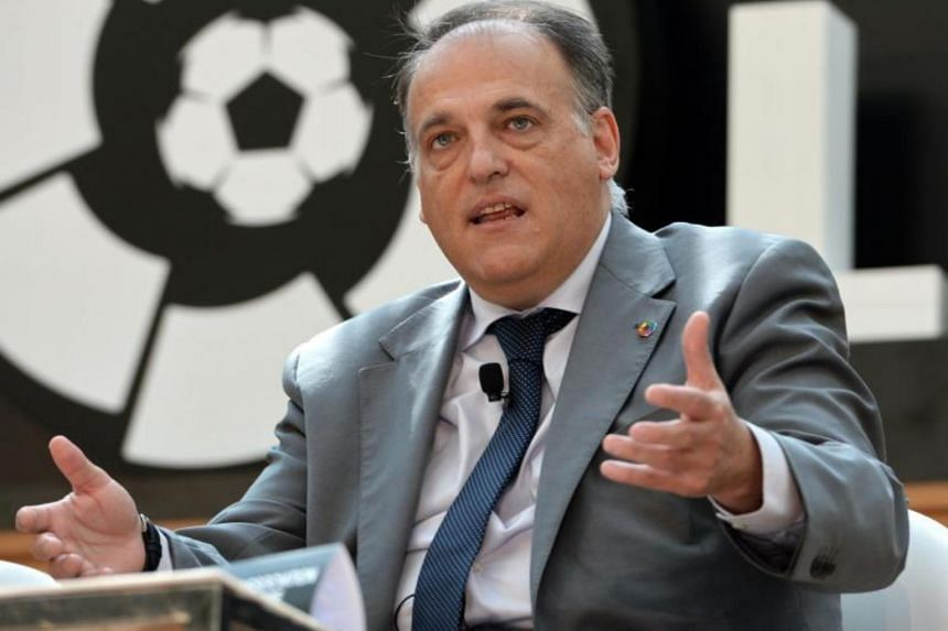 """""""Next season, there will be VAR in LaLiga, without a doubt,""""said LaLiga's president Javier Tebas at a news conference in Madrid on Tuesday."""