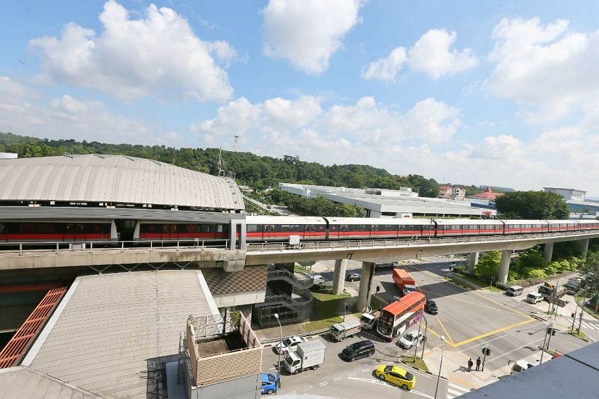 Twenty-three passengers and two SMRT staff were said to be injured after an SMRT train hit a stationary train at Joo Koon MRT station.