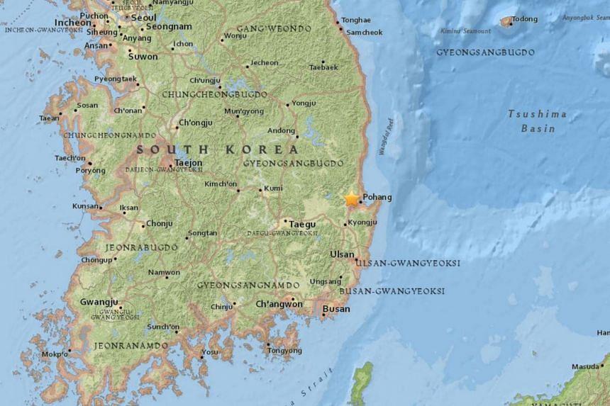 A rare 5.4-magnitude earthquake hit South Korea's south-east on Nov 15, 2017.