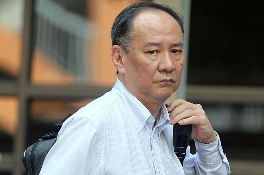 Jonathan Damian Poh Eng Wan, 54, was fined $4,800 after he admitted to committing mischief.