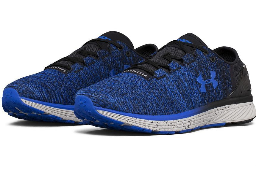 The Under Armour Charged Bandit 3 has enough cushioning and performs superbly for walks, runs and circuit training.