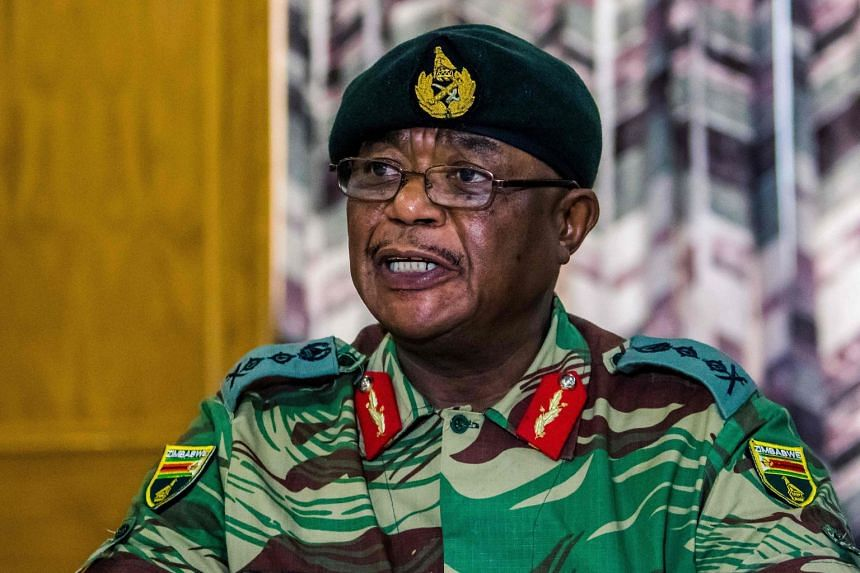 Head of the armed forces, Constantino Chiwenga (above), has openly threatened to intervene in politics.