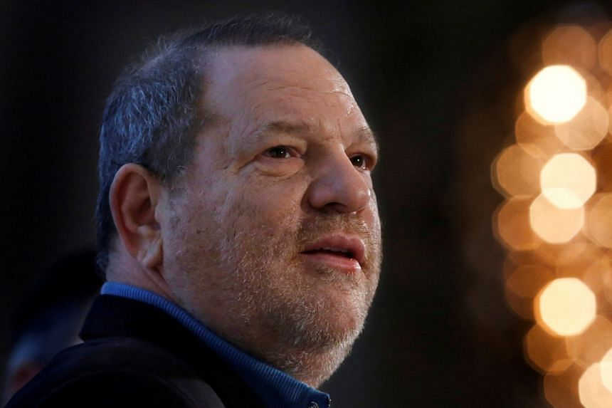Weinstein (above) and the companies are accused in the suit of violating federal racketeering laws, assault, civil battery, and intentional and negligent infliction of emotional distress.