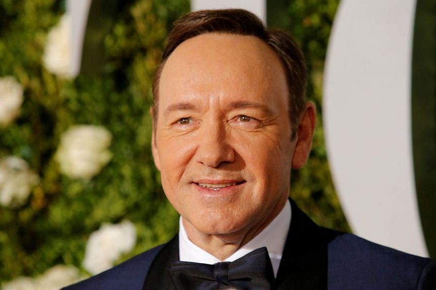 Spacey (above) was artistic director at the Old Vic from 2004 to 2015.