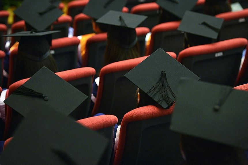 Many private school graduates polled also had lower starting pay compared with their public university peers.