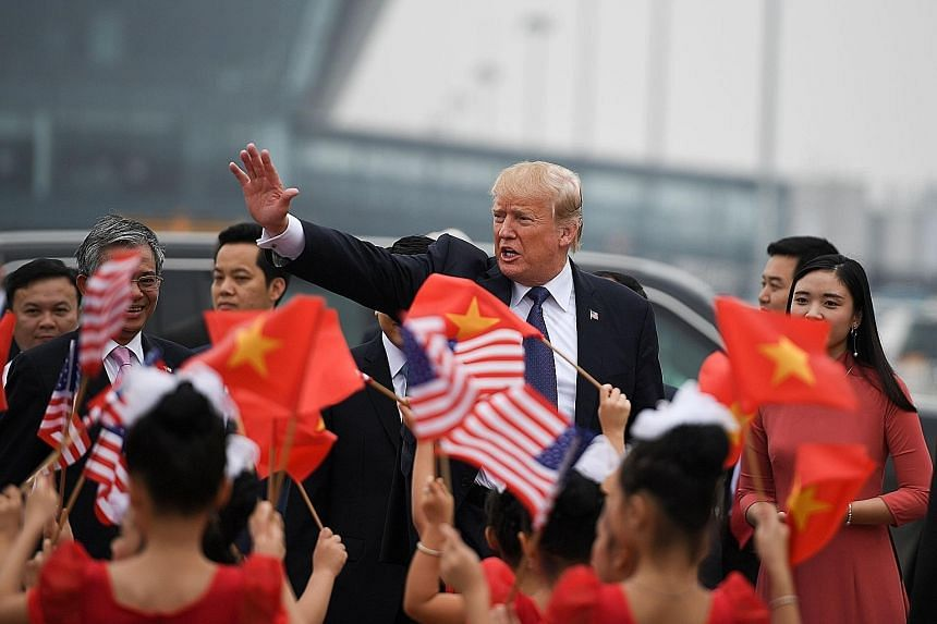 Mr Trump leaving Hanoi on Sunday, and heading to Manila for the next leg of his trip. One expert says Mr Trump's performance was weakest at the Apec summit in Danang.