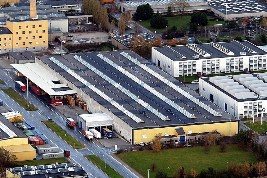 Among the 74 properties set to be included in the revised Cereit portfolio is a large warehouse in Denmark with a two-storey side office.