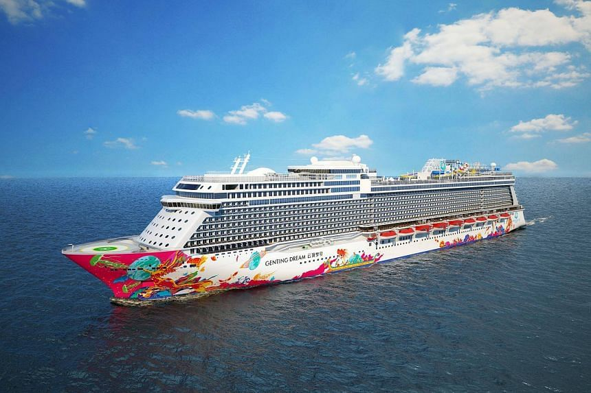 This is the first time Singapore is serving as the home port of a luxury cruise ship of such a scale.