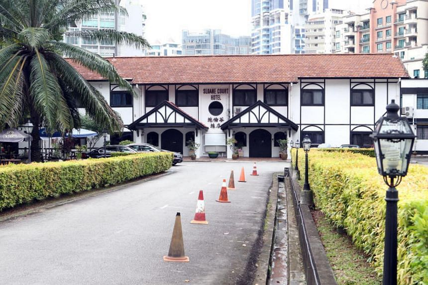 Sloane Court Hotel has been operating since the early 1960s and is one of the last vestiges of the colonial era.