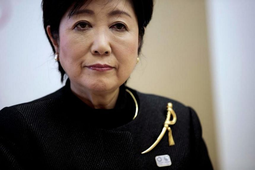 Tokyo governor Yuriko Koike is on a three-day visit to Singapore as the 60th Lee Kuan Yew Exchange Fellow.