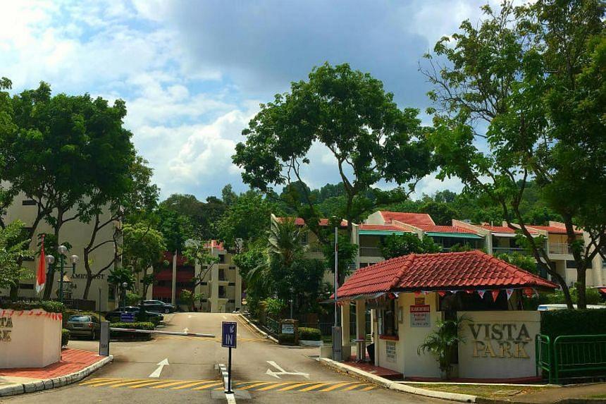Vista Park is about a seven-minute walk from Pasir Panjang MRT station.