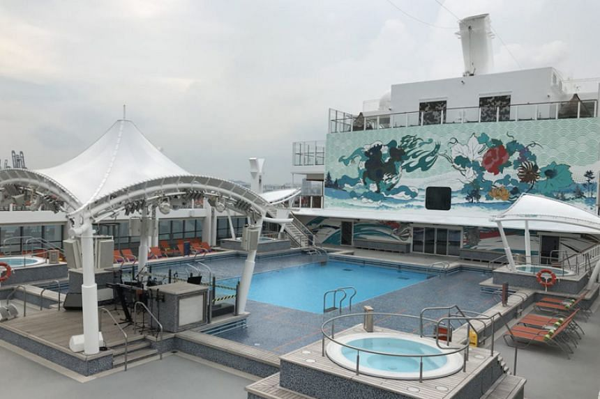 Genting Hong Kong's cruise liner Genting Dream, which has 18 decks and can host 3,352 passengers, will be sailing from Singapore to Indonesia, Malaysia, Thailand and Myanmar.