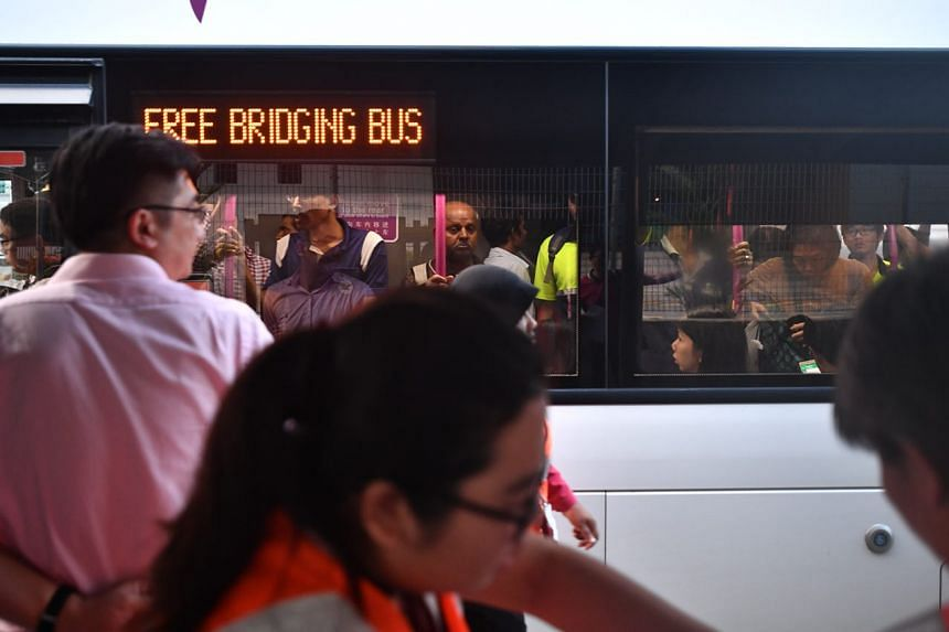 Bus bridging services will be available throughout the day to help with the disruption.