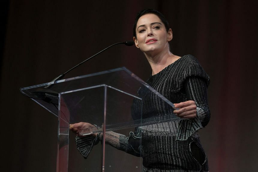 Actress Rose McGowan surrendered to the police on Tuesday on a month-old arrest warrant involving drug possession.