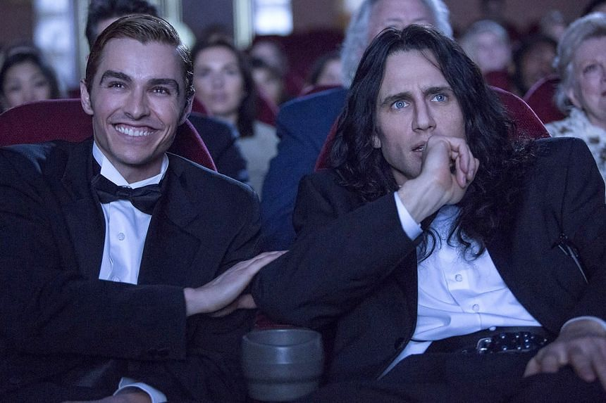 Actor-director James Franco (right) recruited his brother Dave Franco to star in The Disaster Artist.