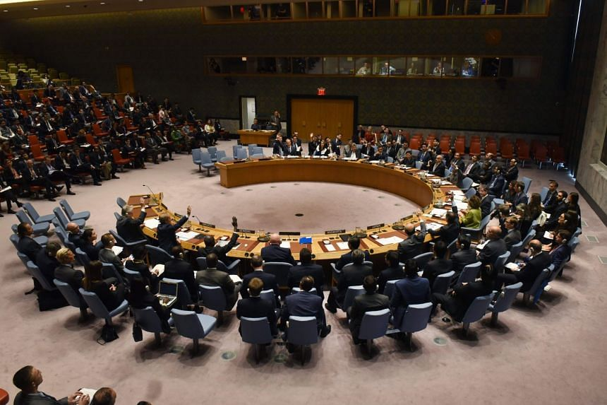 The UN Security Council votes to extend investigations into who is responsible for chemical weapons attacks in Syria at the United Nations.