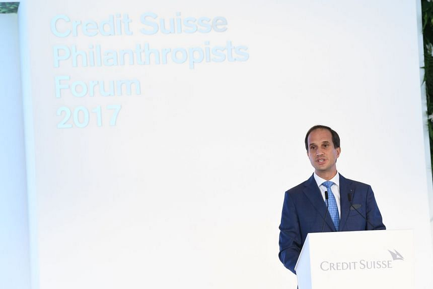 Mr Francesco de Ferrari highlighted the need for more innovative and cost-effective healthcare for all. PHOTO: CREDIT SUISSE
