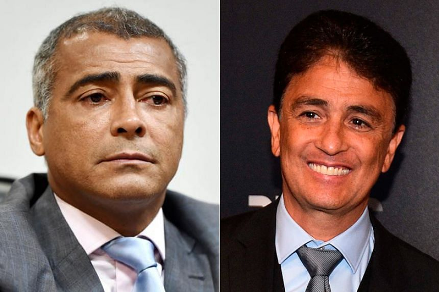 Former deadly football duo Romario (left) and Bebeto (right) are teaming up to reform their ailing state of Rio de Janeiro.