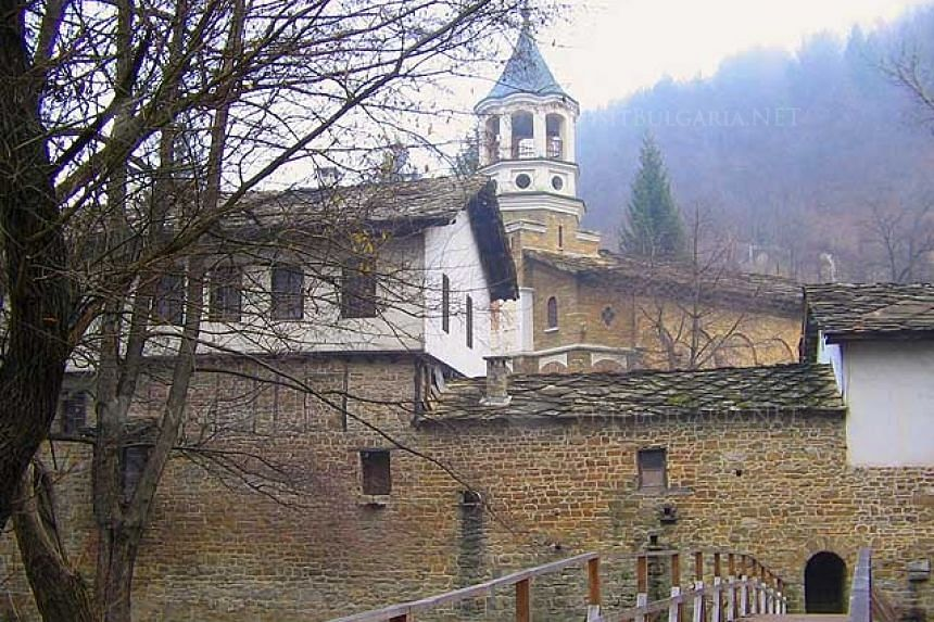 The minibus was taking a group of blind people back home after an excursion to the town of Dryanovo (above).
