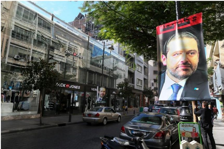 Lebanese Prime Minister Saad Hariri and his family are due to meet French President Emmanuel Macron in Paris on Saturday.