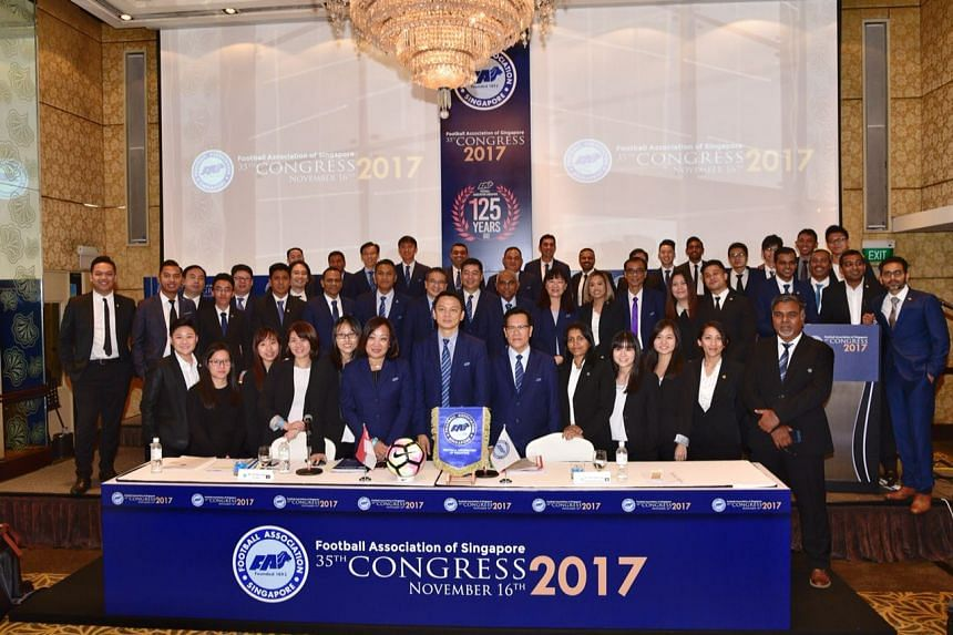FAS council and staff members at the FAS Congress.