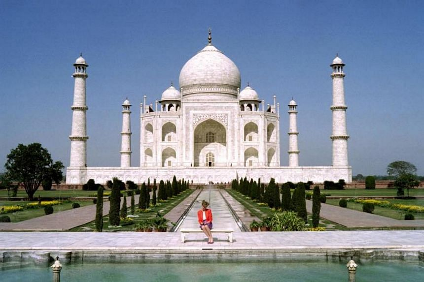 The Taj Mahal is a Unesco world heritage site, and also India's topmost tourist attraction visited by millions each year.