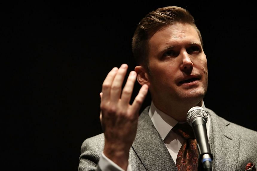 White nationalist Richard Spencer (above) has been stripped of his verified status.