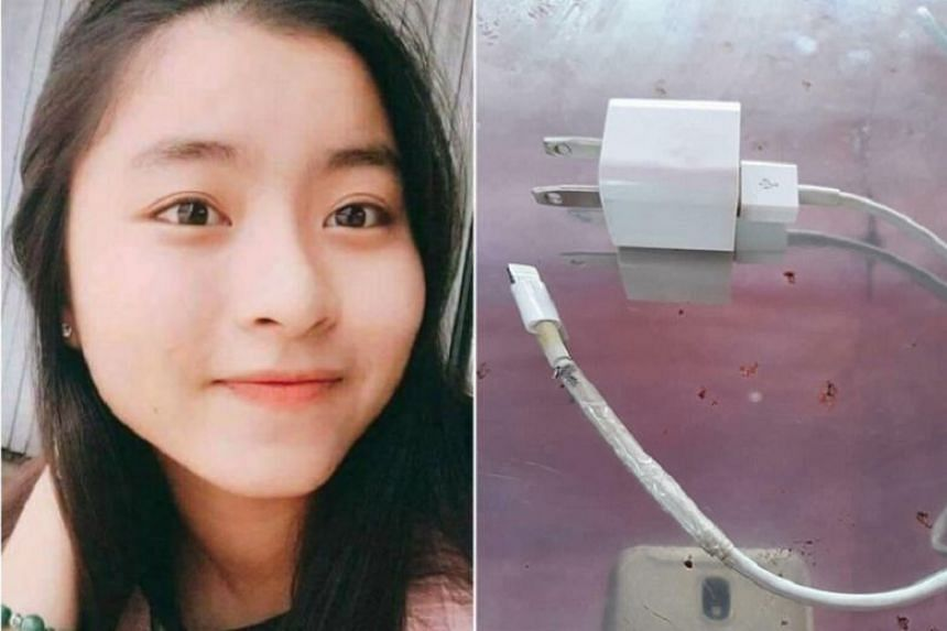 According to British reports, 14-year-old schoolgirl Le Thi Xoan died after being electrocuted by a broken charging cable in her sleep.