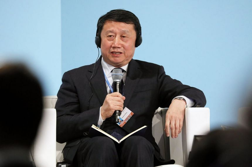 Wang Binghua, State Power Investment Corporation of China board chairman, speaks at the Bonn conference.