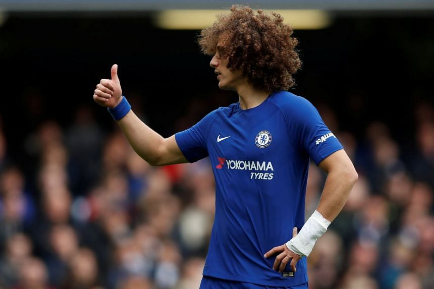 Conte declined to talk about his relationship with Luiz (above).