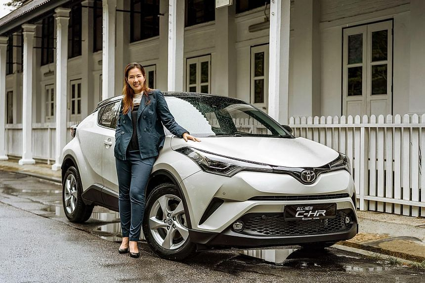 As the newly appointed managing director of Borneo Motors, Ms Jasmmine Wong intends to bring in a wider range of models, such as the new Toyota C-HR.