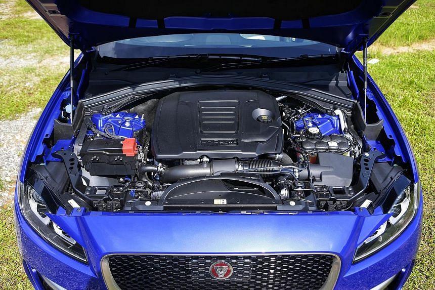 The Jaguar F-Pace SUV clocks a century sprint of 6.8 seconds.