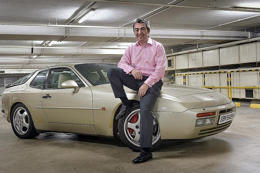 Mr Alvin McCully's Porsche 944 has clocked 270,000km, has undergone two engine rebuilds and a full respray and is always parked under shelter.
