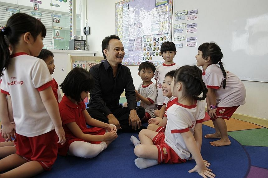 "MindChamps founder David Chiem is confident the firm is ""well positioned to capture growth of the early childhood education industry globally"". Apart from Singapore and Australia, its target markets include China, the US, Britain, New Zealand, Malays"