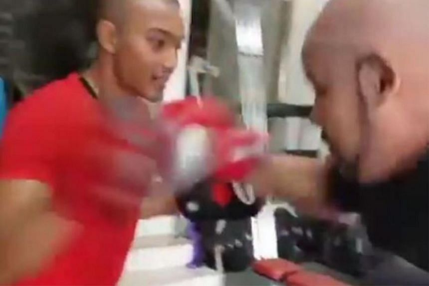 AirAsia Group chief executive officer Tony Fernandes and comedian Harith Iskander sent tongues wagging when they asked social media users who would win in a boxing match between them.