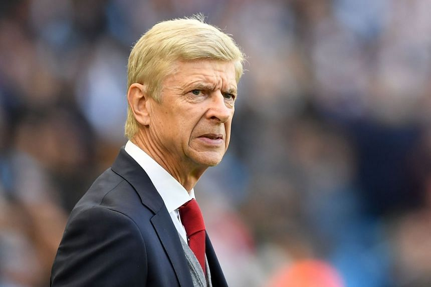Arsenal's French manager Arsene Wenger at the Etihad Stadium in Manchester, north west England, on Nov 5, 2017.