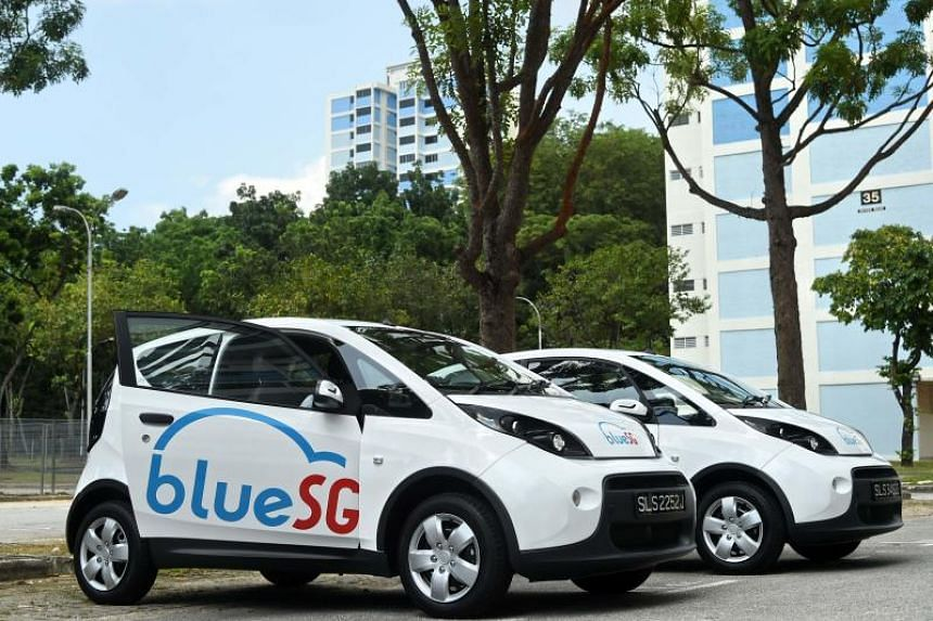 BlueSG said that it plans to roll out the service in full come December, with an initial fleet of 80 two-door hatchbacks.