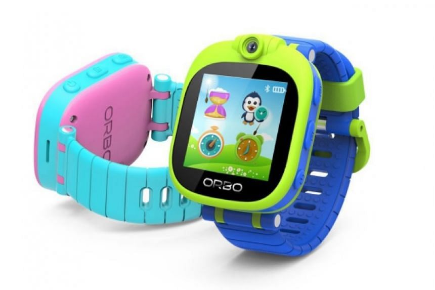 A screenshot of smart watches for children offered for sale on the Internet.